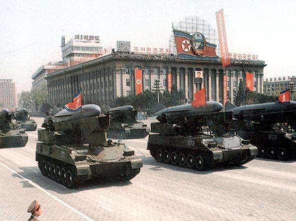 La Corea lancia 4 missili contro il Giappone: