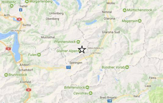 Terremoto Svizzera, scossa di magnitudo 4.4 sulle Alpi