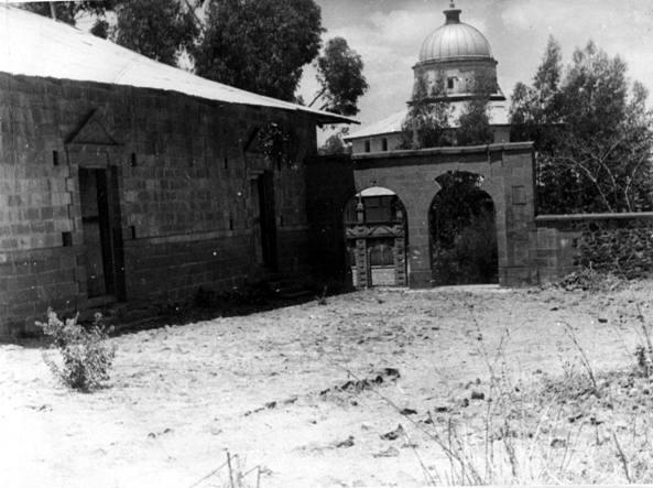 La città conventuale di Debrà Libanòs in Etiopia nel 1938