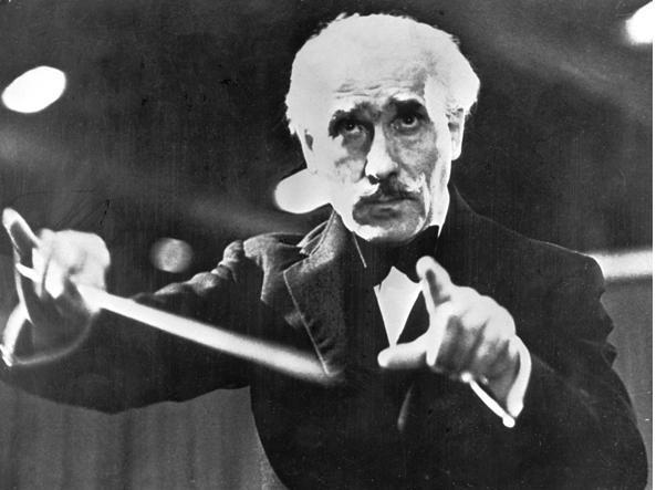 Il maestro Arturo Toscanini (Getty)