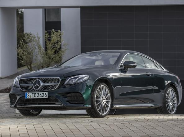 La Mercedes Classe E Coupé