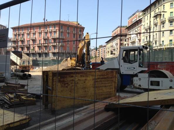 Lavori a Milano per la M4