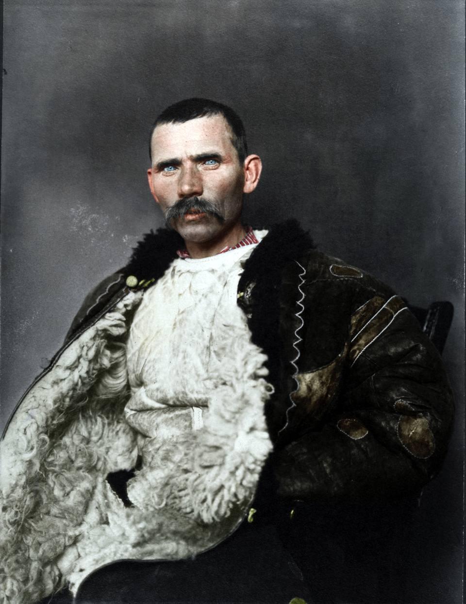 Gli occhi azzurri del pastore rumeno