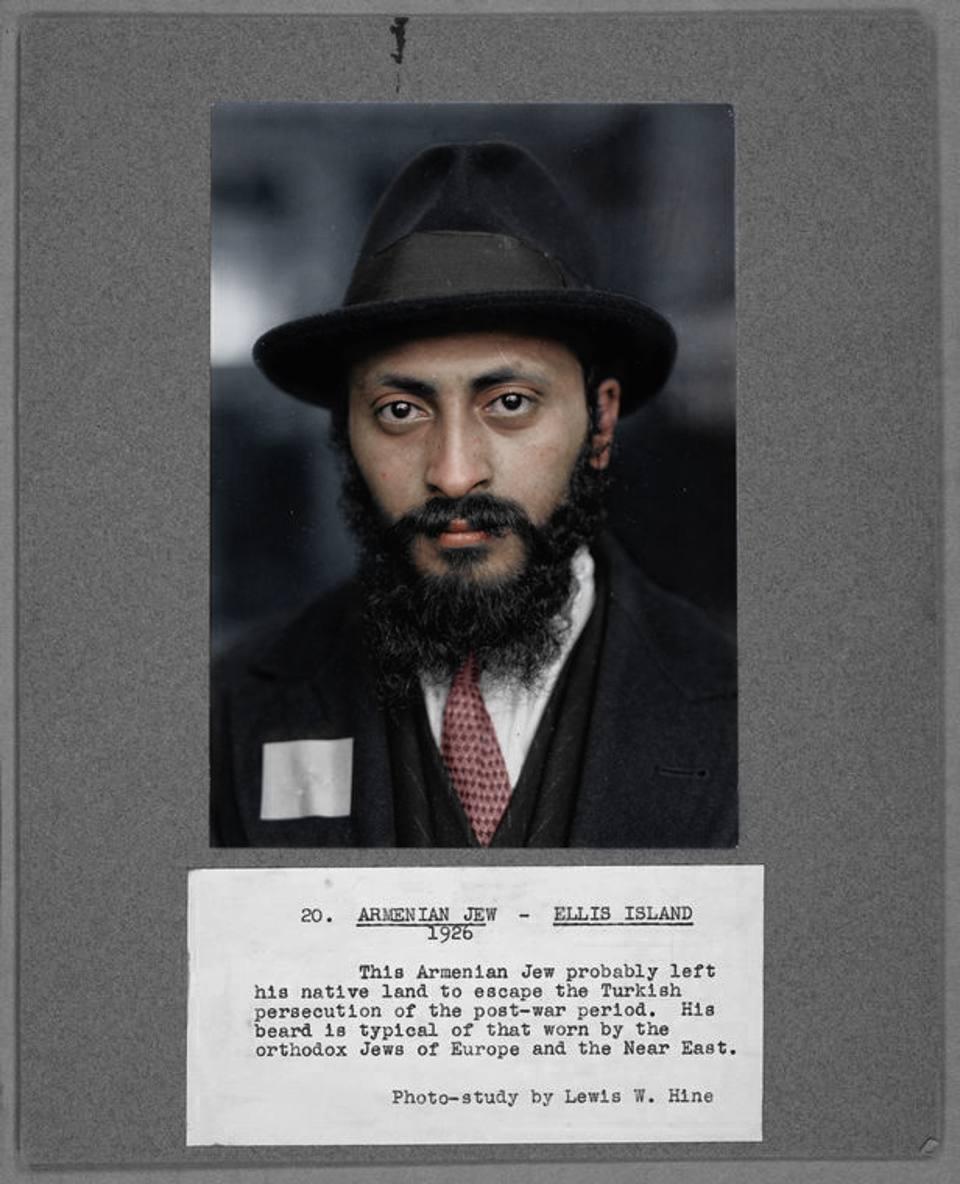 L'armeno in fuga dalle persecuzioni turche