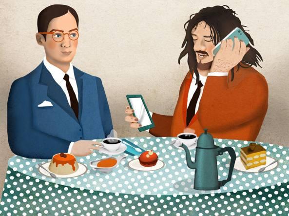 Illustrazione di Francesca Capellini per «la Lettura» #276 in edicola tutta la settimana