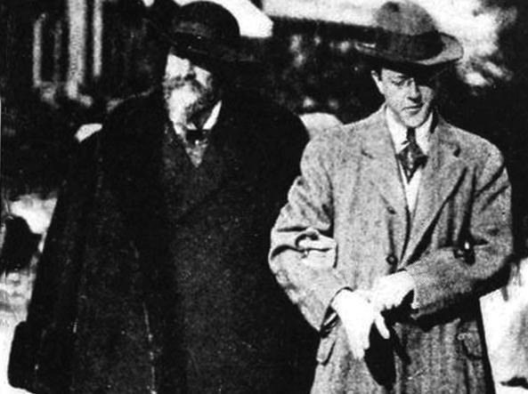 A passeggio a Monte Carlo nel 1911 (dal libro «Joseph Pulitzer - L'uomo che ha cambiato il giornalismo»)