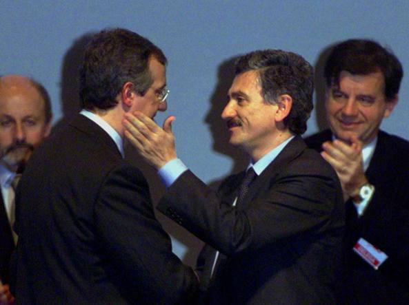 Walter Veltroni e Massimo D'Alema (Ap)