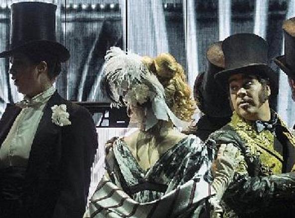 Una scena dell'opera in due atti «Trompe-la-Mort», dal 13 marzo all'Opéra Garnier di Parigi