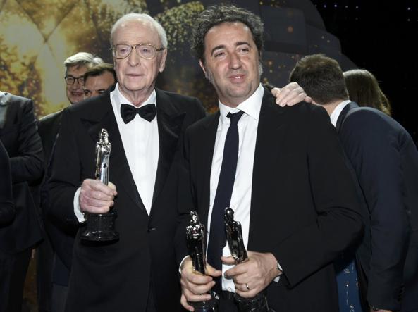 Michael Caine e Paolo Sorrentino (Reuters)