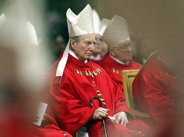 Carlo Maria Martini in Vaticano nel 2005 (Ansa)