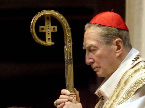 Il cardinale Martini (Ansa)