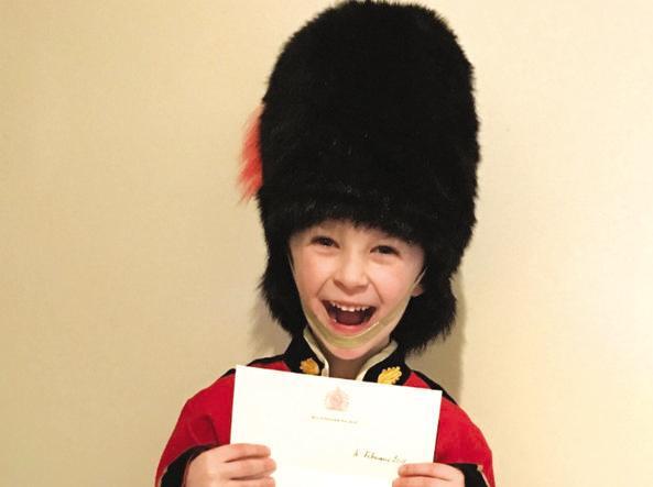 George Mearing, sei anni