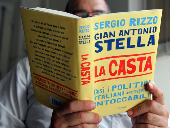 Il libro «La Casta» di Rizzo e Stella (Rizzoli) ha venduto un milione e 300 mila copie