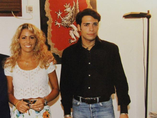 Giancarlo Tulliani con la sorella Elisabetta (Ansa)