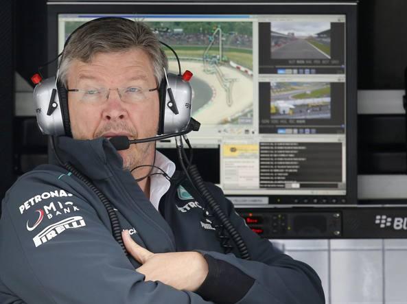 New boss Ross Brawn, 62 anni, a capo della Formula 1, ai tempi della Mercedes (Reuters)