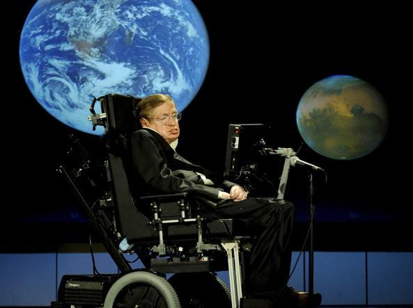 L'astrofisico britannico Stephen Hawking (Ansa)
