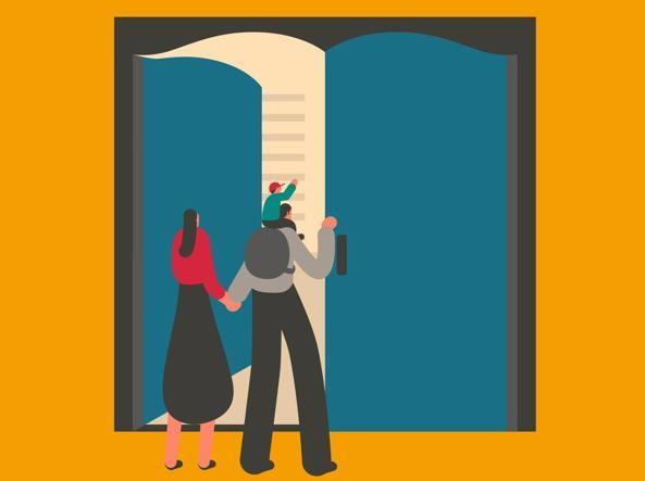 Una delle illustrazioni realizzate per Tempo di Libri da Magoz, illustratore nato a Barcellona che si definisce «nomade»