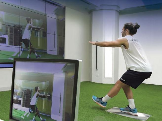 Prevenire gli infortuni studiando i movimenti nella Green Room