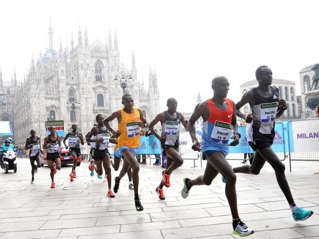 Milano e la maratona dei recordPercorso veloce e oltre 20 mila atleti