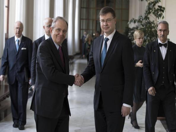 Dombrovskis, ripresa Italia modesta