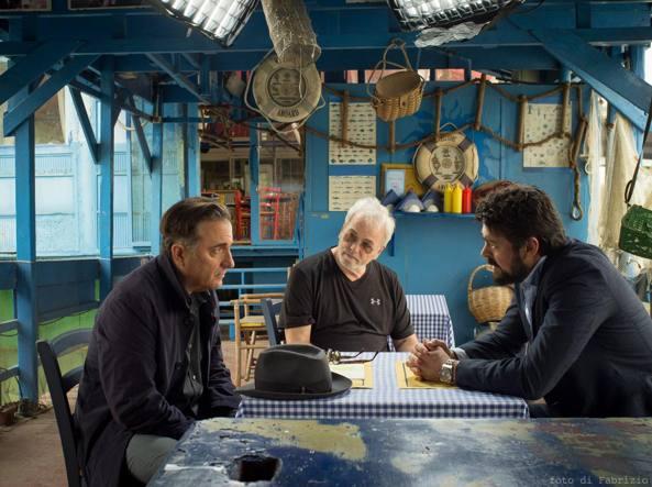 Andy Garcia (a sinistra), il regista Robert Moresco e Karl Urban