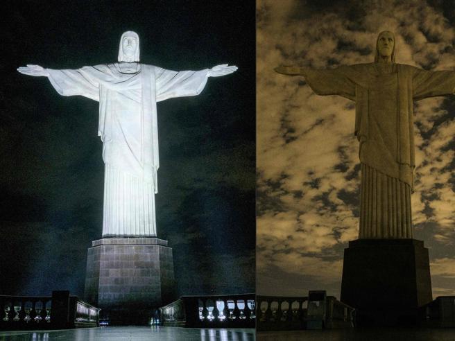 Earth Hour, il mondo spegne la luce per un'ora Le immagini
