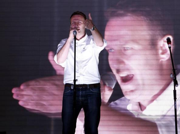 Russia, arrestato leader opposizione Navalny