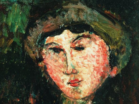 La scrittrice e giornalista Beatrice Hastings in un ritratto di Modigliani