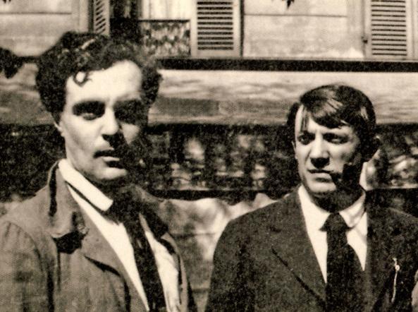 Amedeo Modigliani e Pablo Picasso