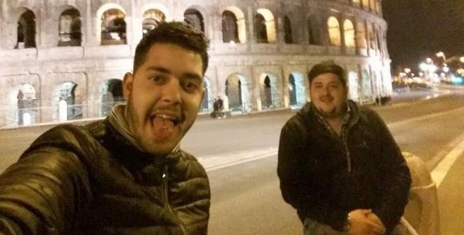 Paolo Palmisani, 20 anni, e Mario Castagnacci, 27: i due fratellastri fermati per l'omicidio di Emanuele (Ansa)