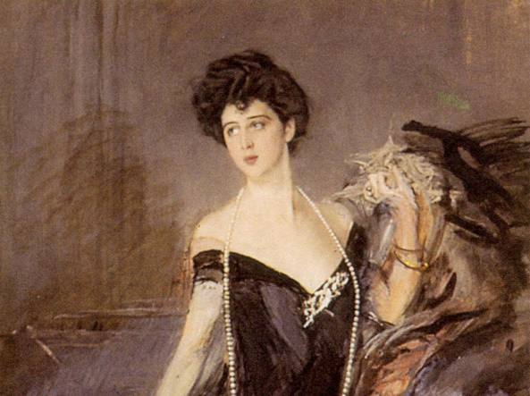 Donna Franca Florio, dipinto da Giovanni Boldini