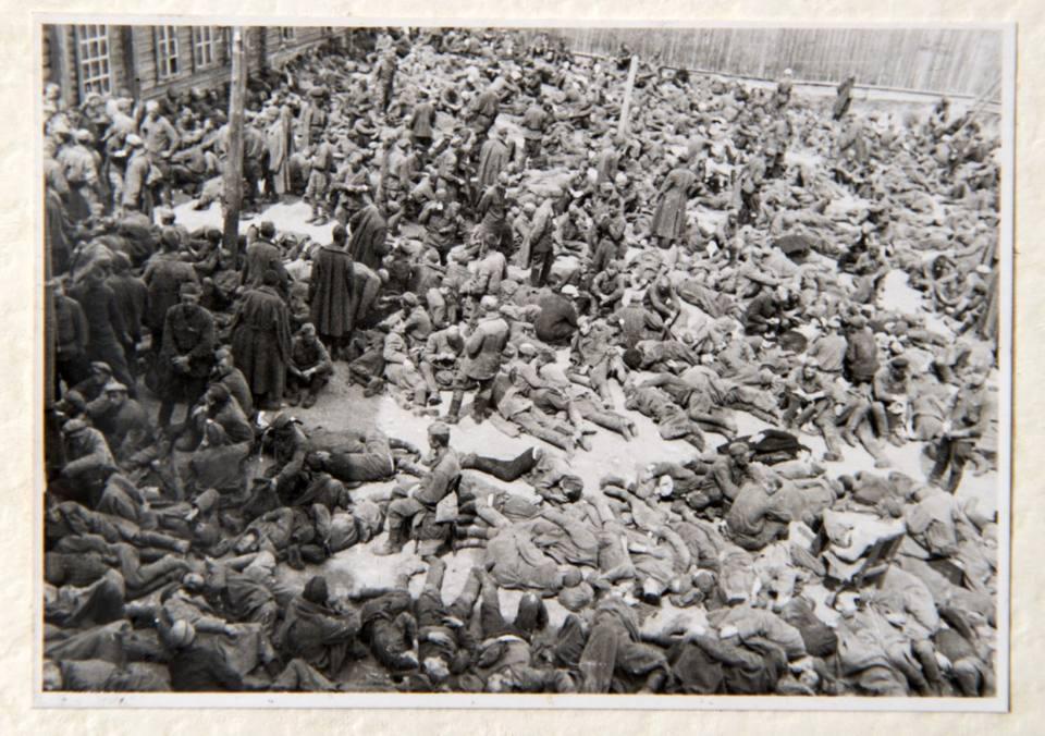 Una distesa di soldati