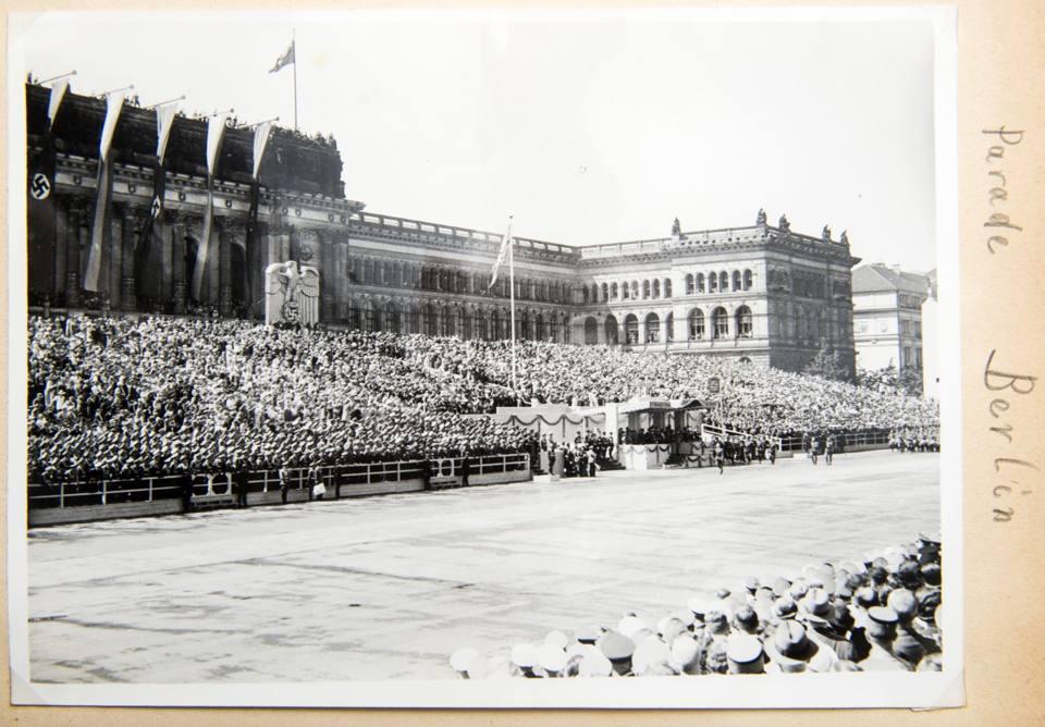 Il palco della parata