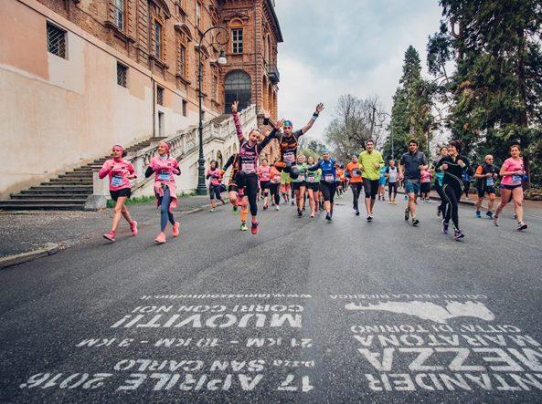 Foto della «Santander La Mezza di Torino» di Davide Dusnasco, tratta dal profilo Facebook di «Base Running» che organizza la corsa