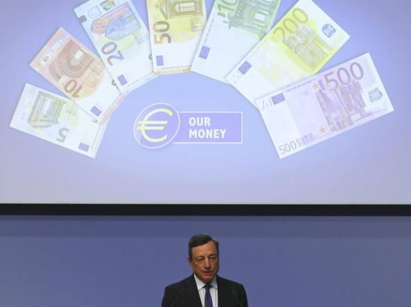In circolazione la nuova banconota da 50 euro