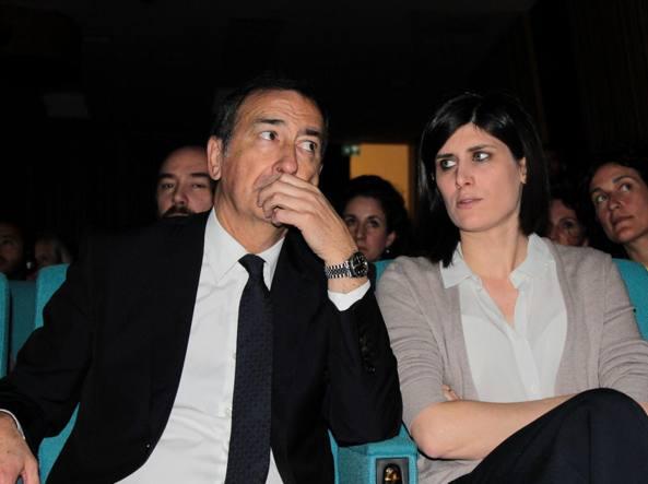 Giuseppe Sala e Chiara Appendino (Omnimilano)