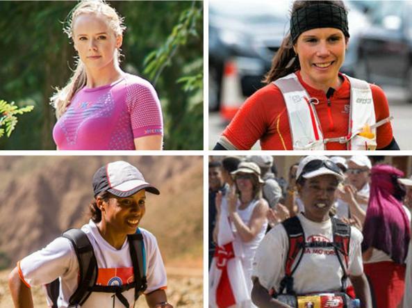Le quattro runner del X-Bionic Women's Team
