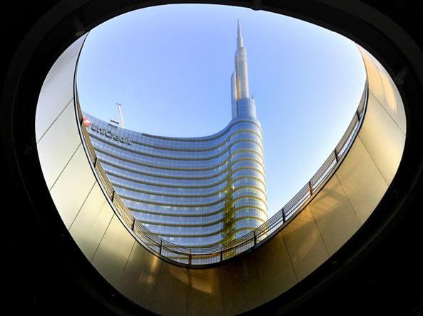Piazza Gae Aulenti, Milano