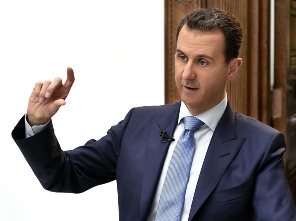 Il presidente siriano Bashar Assad, 51 anni (Epa)