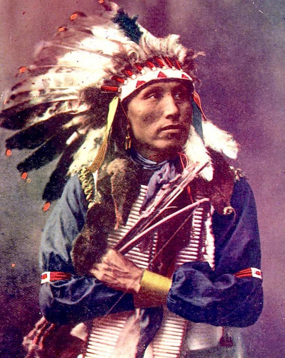 Ancora un Oglala Lakota