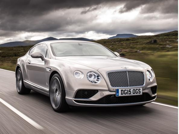 Una Bentley Continental GT Speed