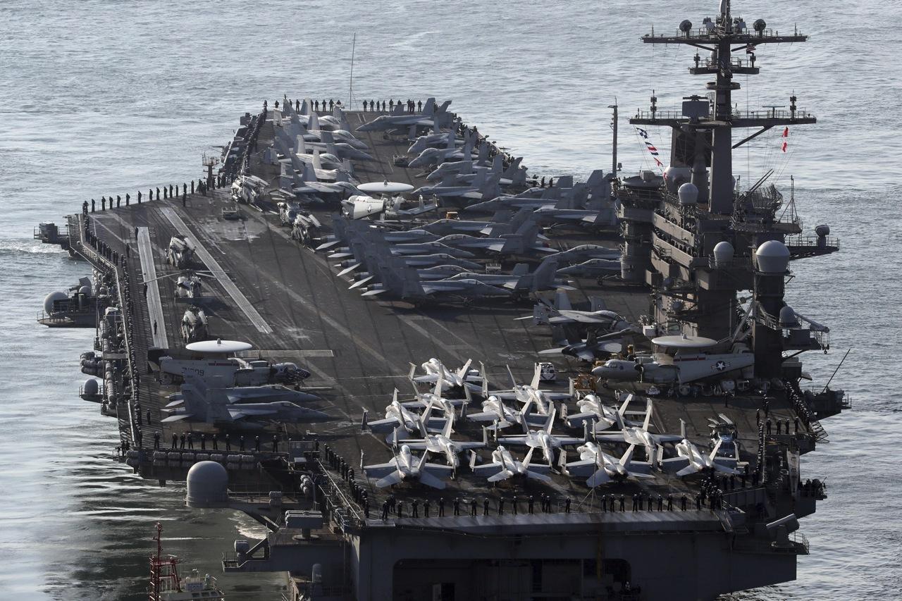 Jet americani simulano attacco alla Corea del Nord