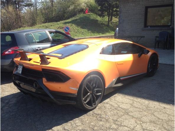La Lamborghini Huracàn Performante sul Passo della Raticosa