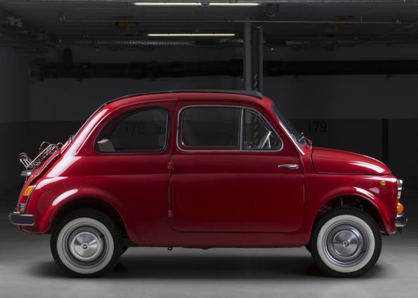 La Fiat 500 del 1963, trasformata