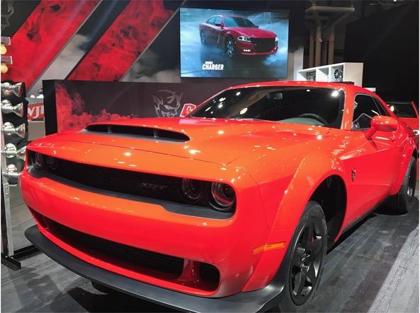 La Dodge Challenger SRT Demon