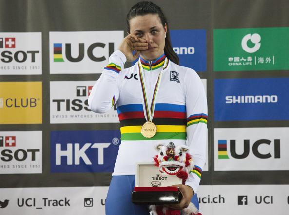 Ciclismo su pista, la modenese Rachele Barbieri è campionessa del mondo
