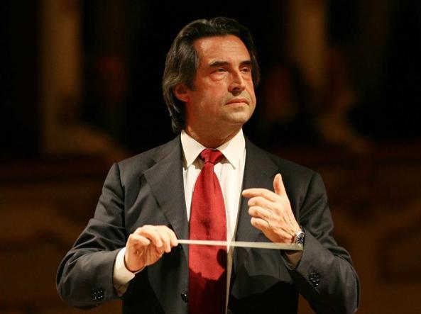 Riccardo Muti, ospite della tappa di Ravenna, il 20 maggio