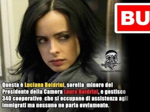 Boldrini su Facebook contro le Bufale: