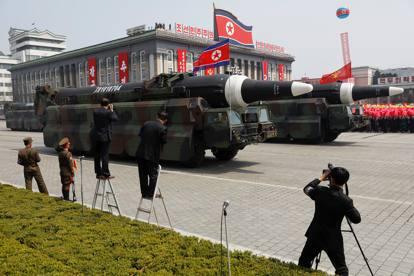 Nord Corea, la parata militare e le celebrazioni per il «Giorno del Sole»