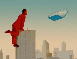 Una illustrazione di Beppe Giacobbe per «la Lettura»